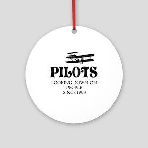 Pilots Round Ornament