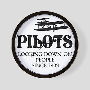 Pilots Wall Clock
