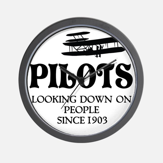 Pilots Wall Clock