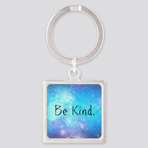 Be kind Square Keychain