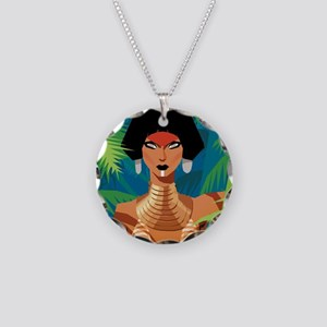Jungle Love Chad Sell Necklace Circle Charm