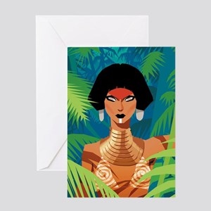 Jungle Love Chad Sell Greeting Card
