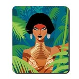 Drag queen Mouse Pads