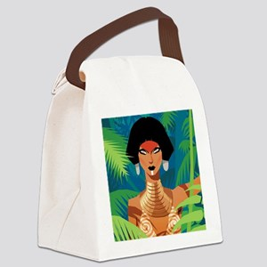 Jungle Love Chad Sell Canvas Lunch Bag