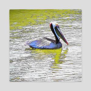 Pelican Coastal Reflections Queen Duvet