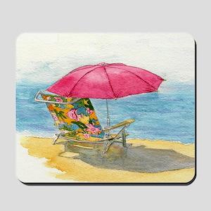 Beach Chair Mousepad