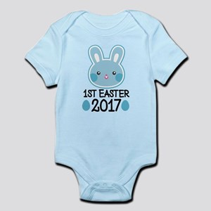 1st Easter 2017 Bunny Body Suit