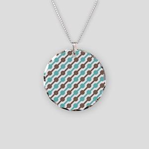 Rainy Day Necklace Circle Charm