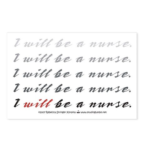 I Will Be a Nurse! Postcards (Package of 8)