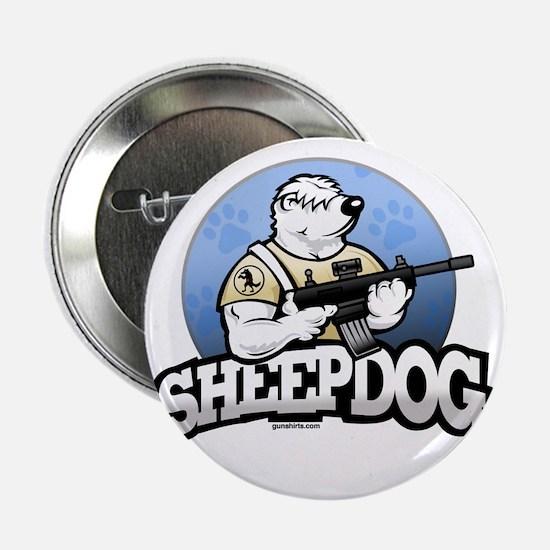 """Sheepdog Design 1 2.25"""" Button"""
