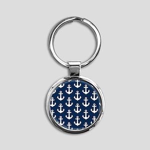 Anchor Me Round Keychain