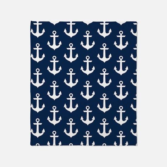 Anchor Me Throw Blanket