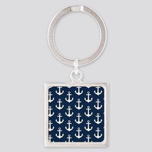 Anchor Me Square Keychain