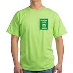 Morgan Park Fluorescent Green T-Shirt