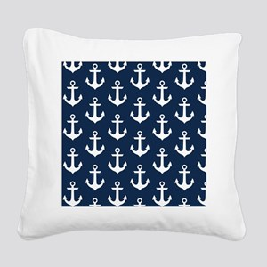 Anchor Me Square Canvas Pillow