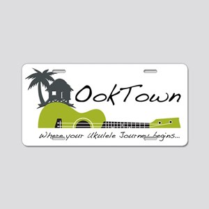 OokTown - where your Ukulel Aluminum License Plate