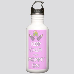 Keep Calm and Mommy On Stainless Water Bottle 1.0L