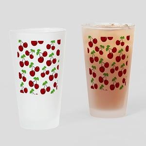 Cherries Drinking Glass