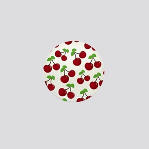 Cherries Mini Button