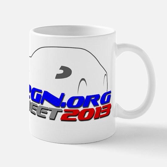 2GN 2013 Meet Front Dark Mug