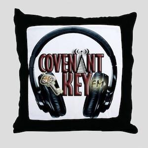 Covenant Key Headset Throw Pillow