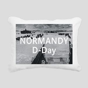 normandy1 Rectangular Canvas Pillow