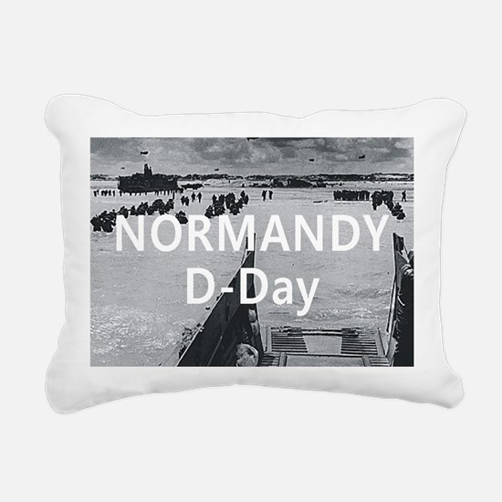 normandy1 Rectangular Canvas Pillow