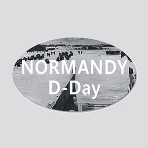 normandy1 20x12 Oval Wall Decal