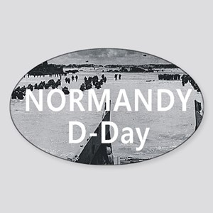 normandy1 Sticker (Oval)