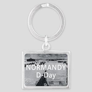 normandy1 Landscape Keychain
