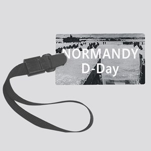 normandy1 Large Luggage Tag
