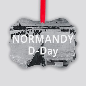normandy1 Picture Ornament