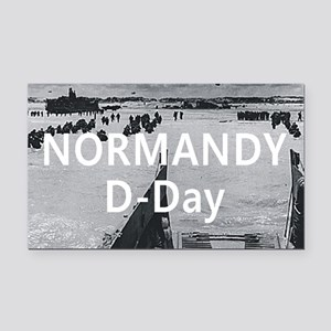 normandy1 Rectangle Car Magnet