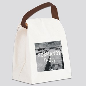 normandy1 Canvas Lunch Bag