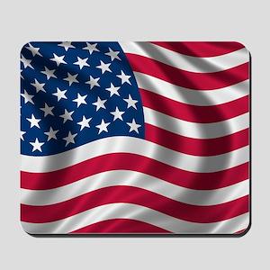 USA Flag Mousepad