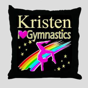 BEST GYMNAST Throw Pillow