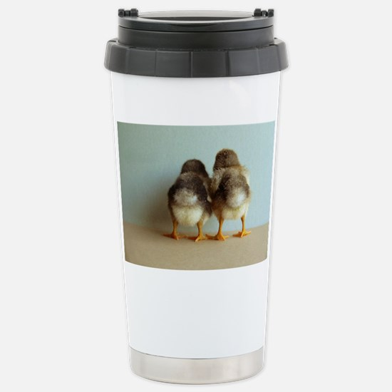 Shy Chicks Stainless Steel Travel Mug