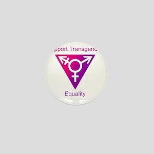 Transgender Equality Mini Button