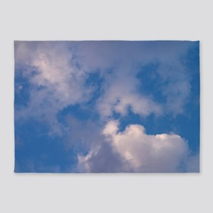 clouds f t w 5'x7'Area Rug