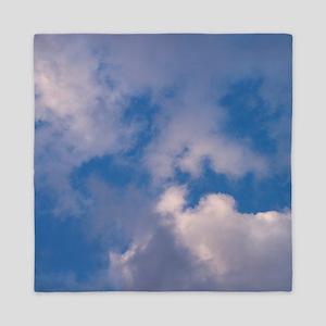 clouds f t w Queen Duvet