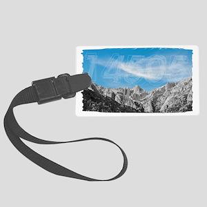Mt Whitney 14505 Large Luggage Tag