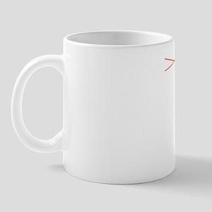 Mt Whitney Elevation Logo White Mug