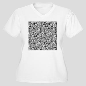 William Morris Th Women's Plus Size V-Neck T-Shirt