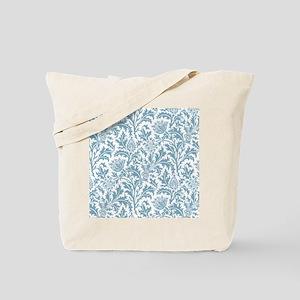 William Morris Pastel Green Thistle Patte Tote Bag