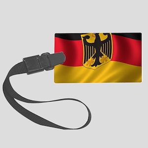 Flag of Germany Large Luggage Tag