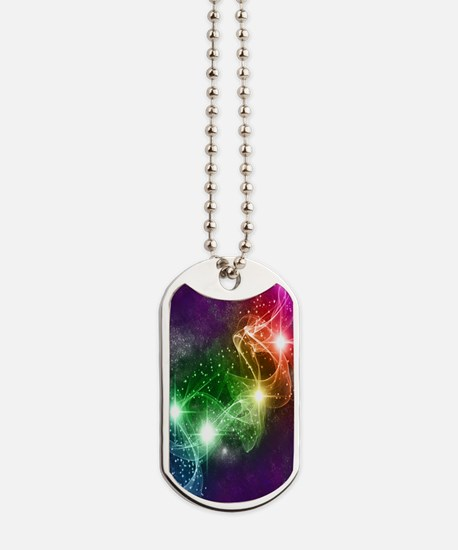 Star Field Galaxy S3 Cover Dog Tags