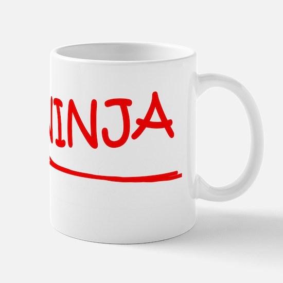 Bookkeeper Job Ninja Mug