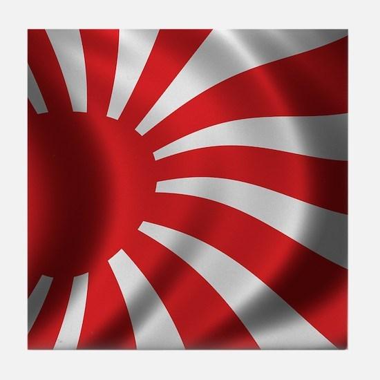 Japan Naval Flag Tile Coaster