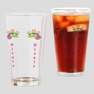 Childrens Girls Summer Flip Flop Sa Drinking Glass