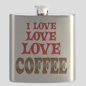 Love Love Coffee Flask